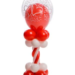 Ballonpilaar Mini deluxe bruiloft topballon 30 cm met ballon erin thema entwined hearts B2B Fotografie 18 01 18 13 26 40 300x300 - Bruiloft
