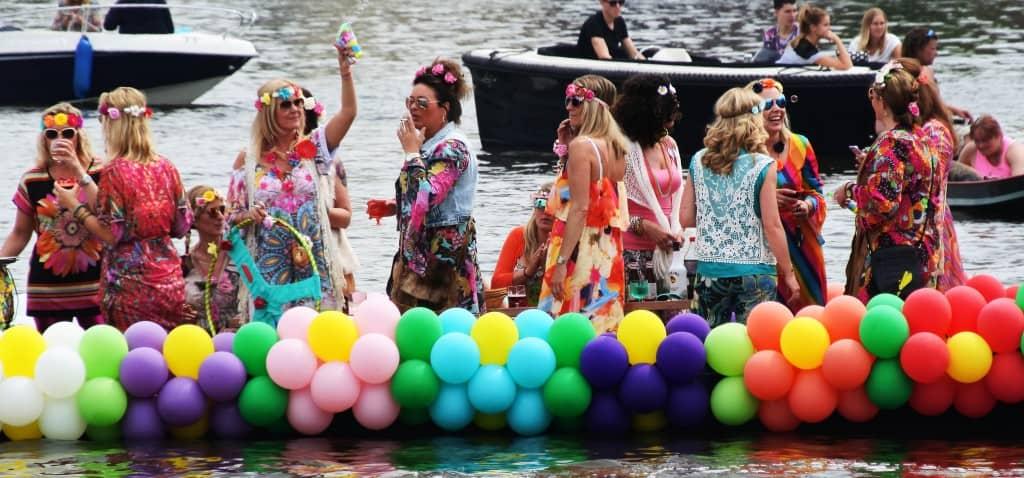 gaypride alkmaar boot proeflokaal de boom alkmaar - Ballonslinger