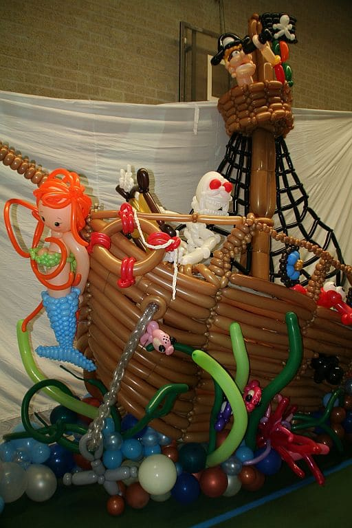 piratenship - Ballondecoraties op maat