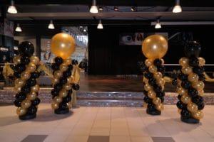 nieuwjaarsreceptie-Mercedes-Gomes-Alkmaar-ballonpilaren-De-Decoratieballon