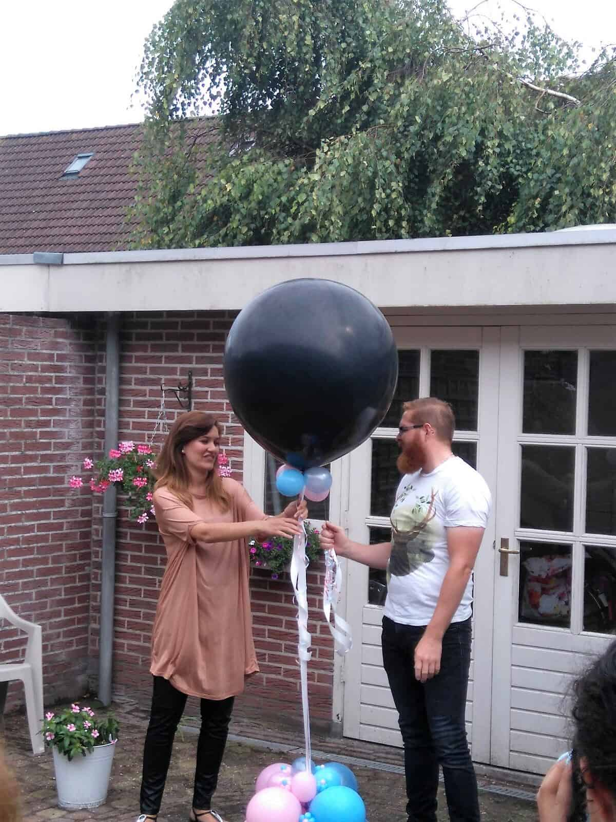 gender reveal ballon - Geboorte