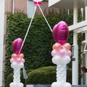 Helium ballonboog bruiloft Schoorl Merlet De Decoratieballon 300x300 - Ballondecoraties op maat