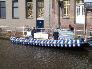 Proeflokaal-de-Boom-ballonslinger-matrozenstijl-boot-gaypride-alkmaar