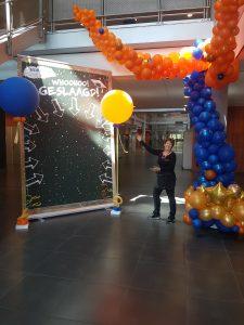 fotomoment met ballonnen