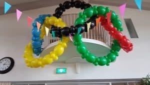 olympische-ringen-ballonnen-Egmond-aan-Zee-De-Decoratieballon-Alkmaar