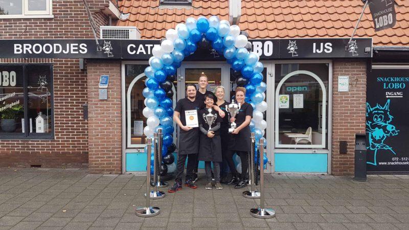 patroon-ballonboog-Snackhouse-Lobo-Oudorp-Alkmaar-eerste-prijs-gewonnen-ballonboog-De-Decoratieballon
