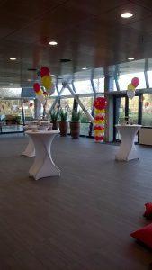 zaalaankleding-helium- ballontros- Sinterklaasfeest-De-Decoratieballon-Alkmaar