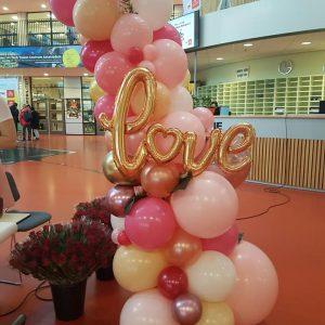 Valentijnsdag studentenraad ROC Westpoort Amsterdam 300x300 - Ballonboog