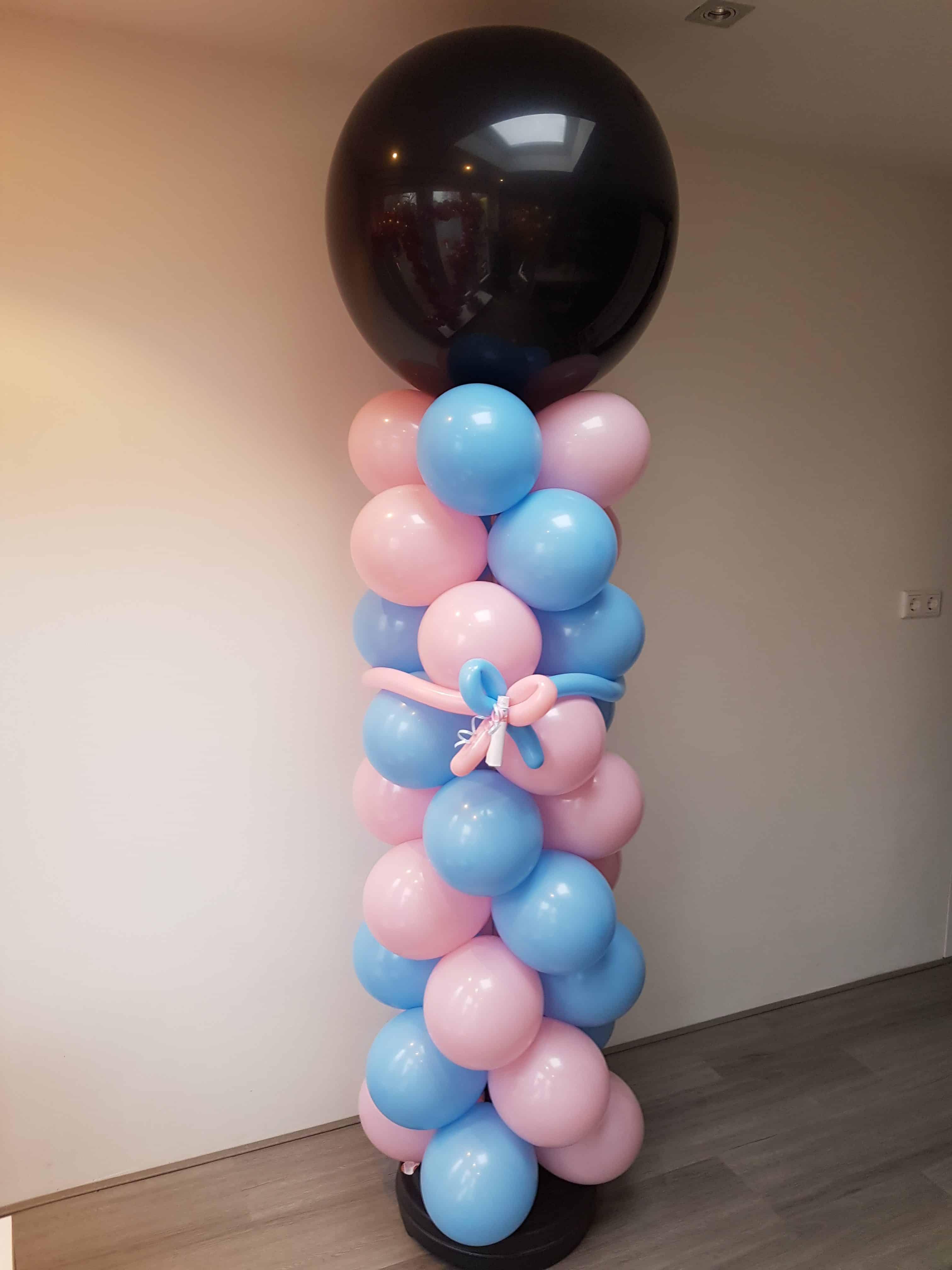 baby-meisje-jongen-vertellen-geslacht-doorprikken-ballonpilaarb